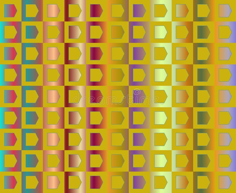 Op Art Go To The Party In Yellow