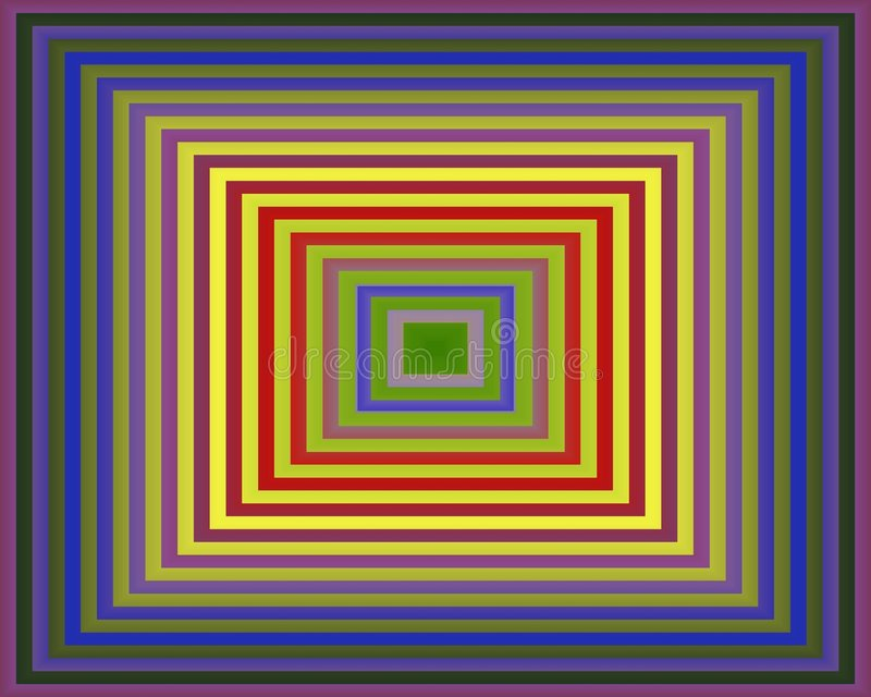 Download Op Art Homage To The Square Purple To Green Stock Photo - Image: 5352060