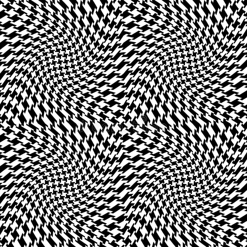 Free Op Art Houndstooth Royalty Free Stock Images - 10071039