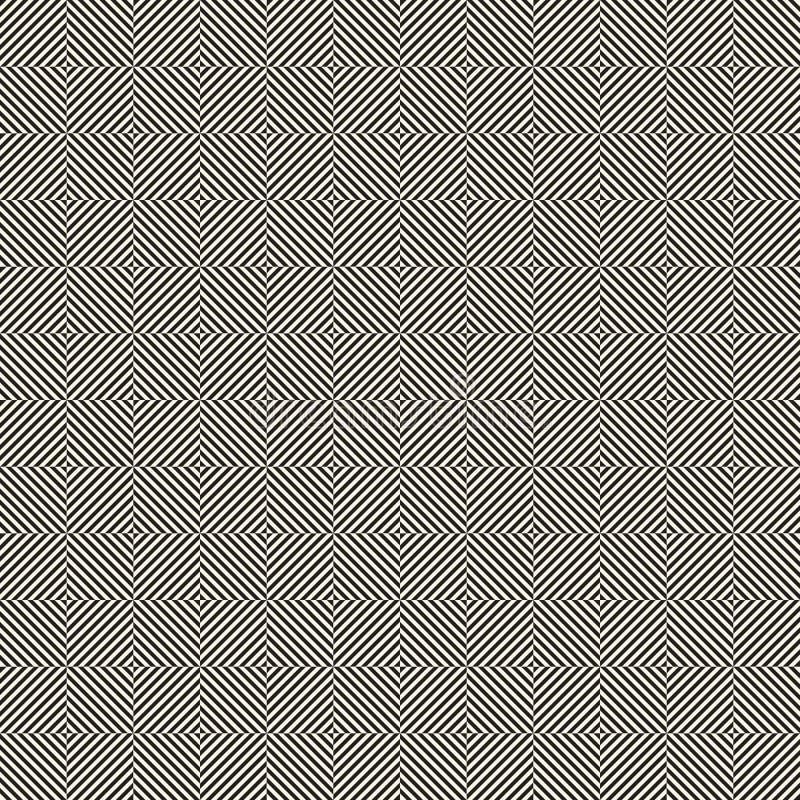 Op art seamless pattern design vector illustration