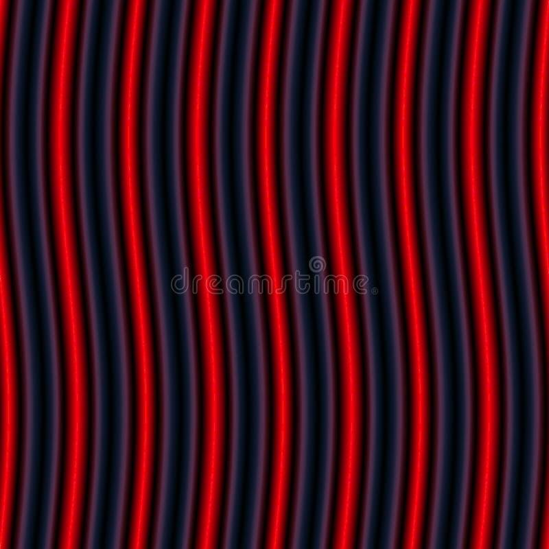 Download Op Art Vertical Undulating Neon Bars Red Stock Illustration - Image: 15954246