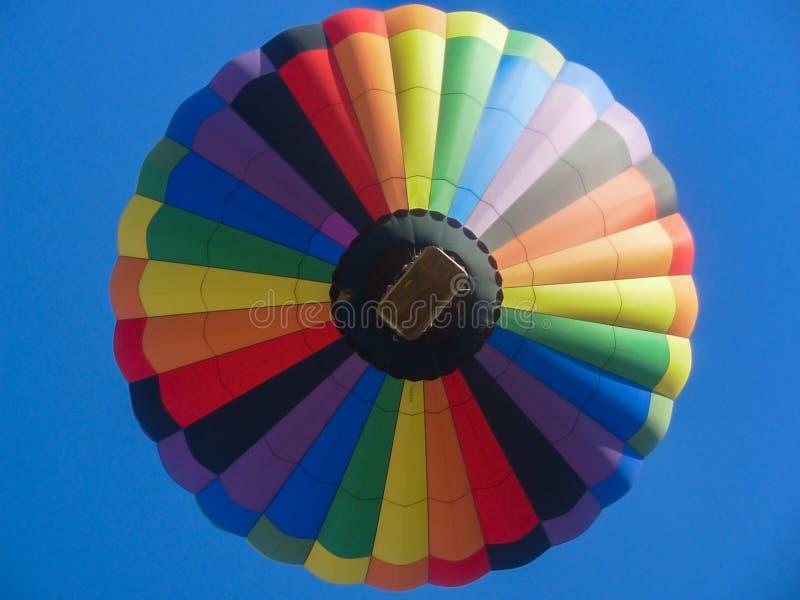 Op bij de Ballon stock afbeelding