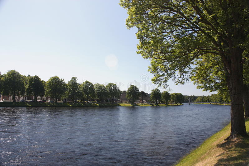 Rivier Ness royalty-vrije stock afbeeldingen