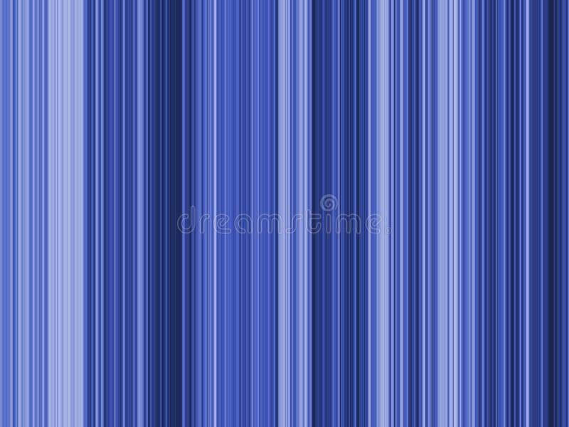 Op de Blauwe Strepen van de Kunst vector illustratie