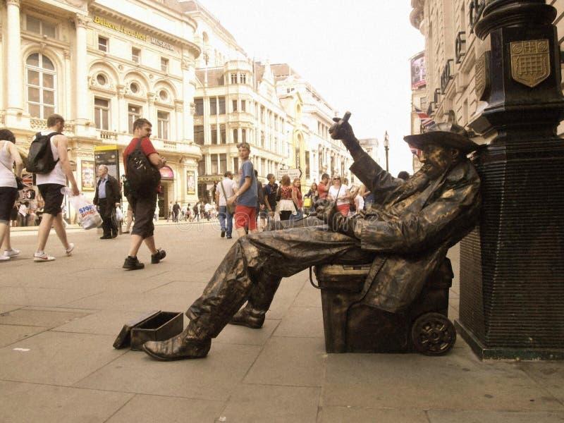 Op de straat in Londen stock fotografie