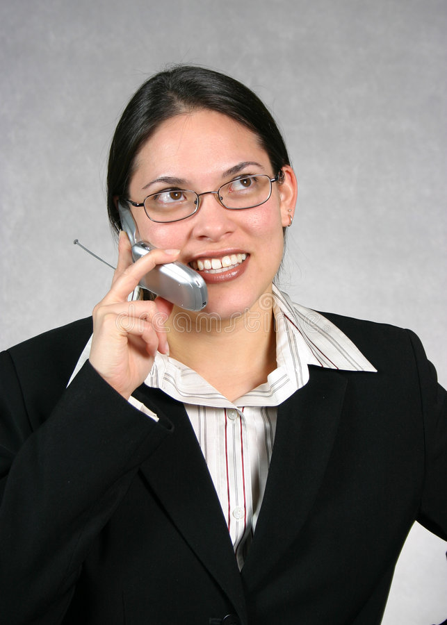 Op De Telefoon Stock Afbeeldingen