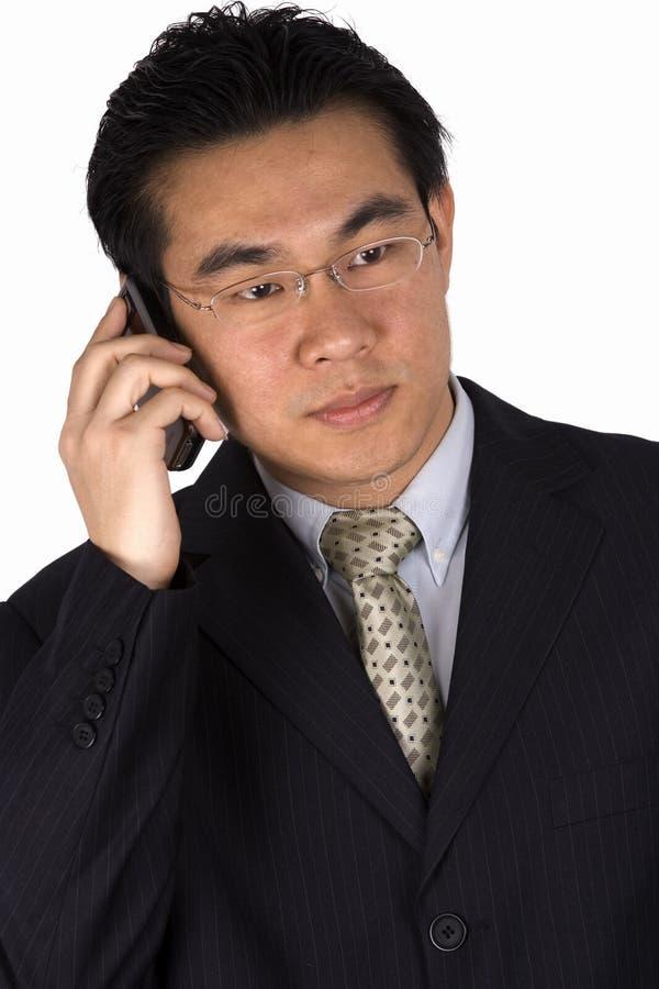 Op de Telefoon royalty-vrije stock foto