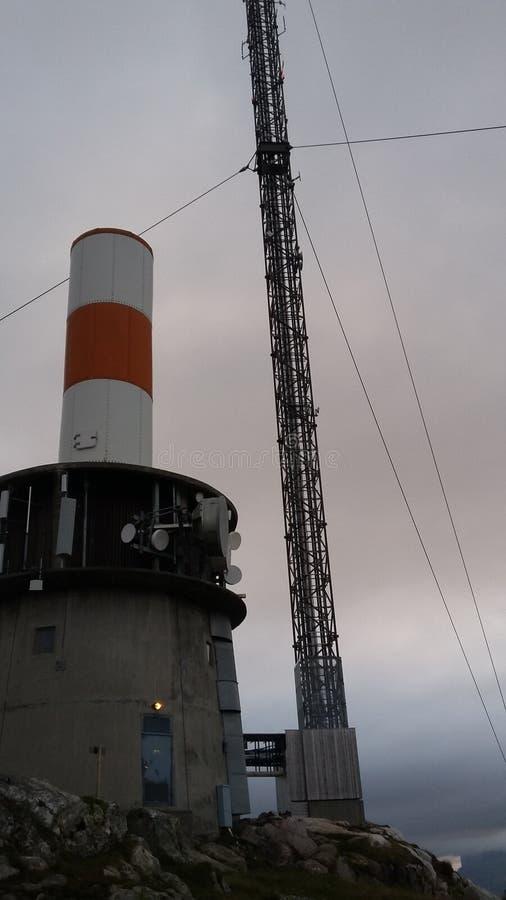 Op de toren in Berlijn stock afbeelding