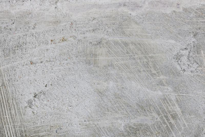 Op de vlakke metaaloppervlakte van de spatel waren er sporen van Ce stock afbeeldingen