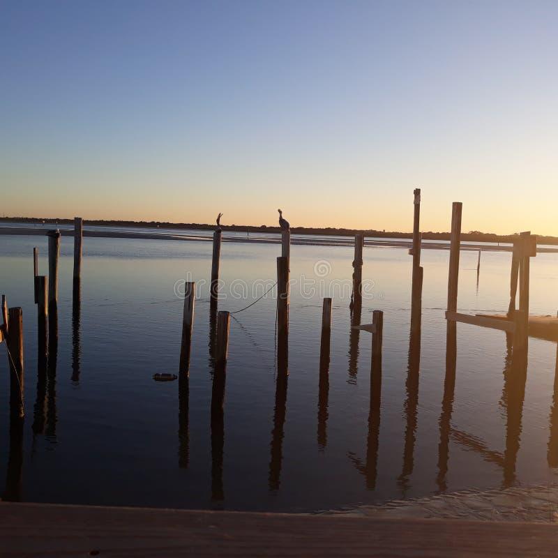 Op het water in FL royalty-vrije stock afbeelding