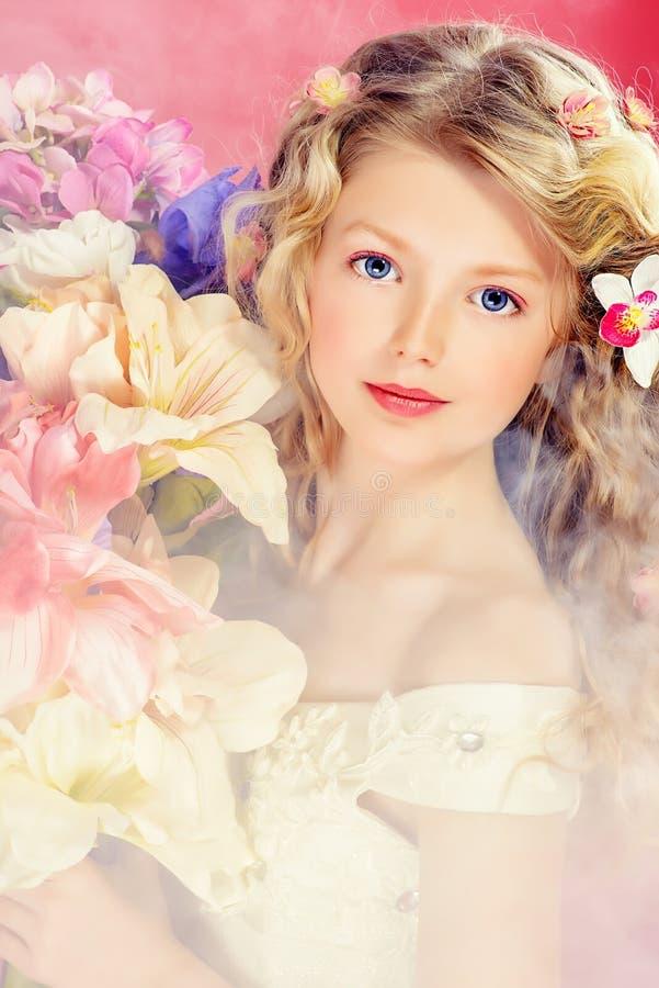 Op roze stock afbeelding