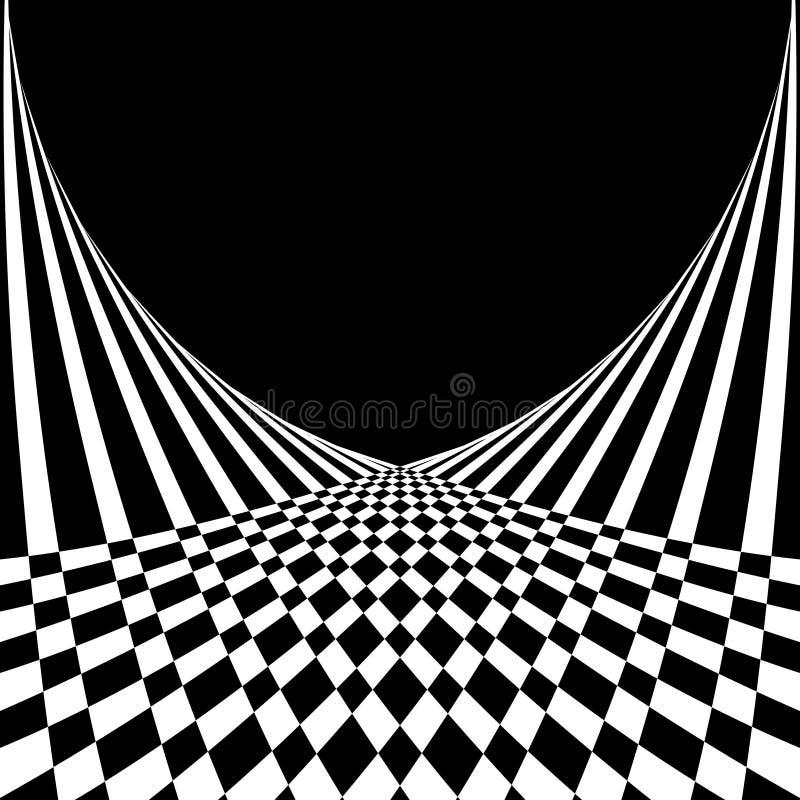 op stil för abstrakt konstbakgrund vektor illustrationer