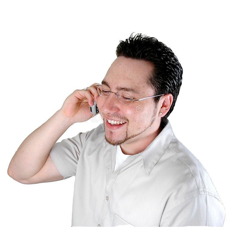 Op telefoon-2 stock afbeelding