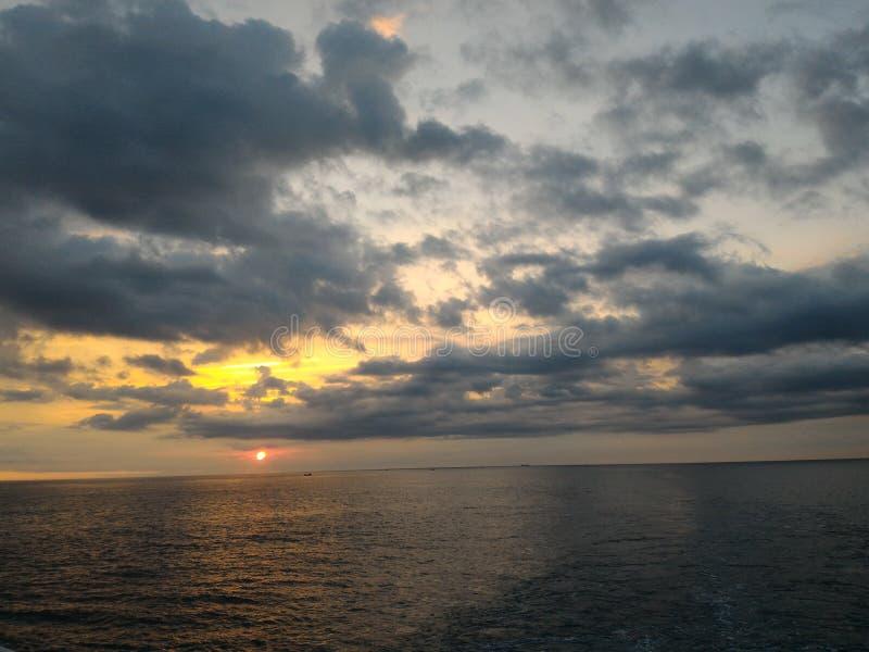 Op zee stock foto