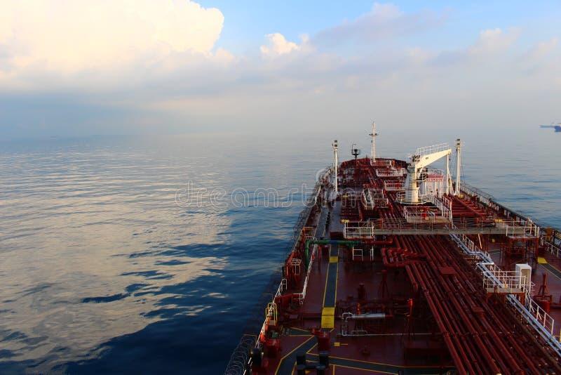 Op zee royalty-vrije stock foto