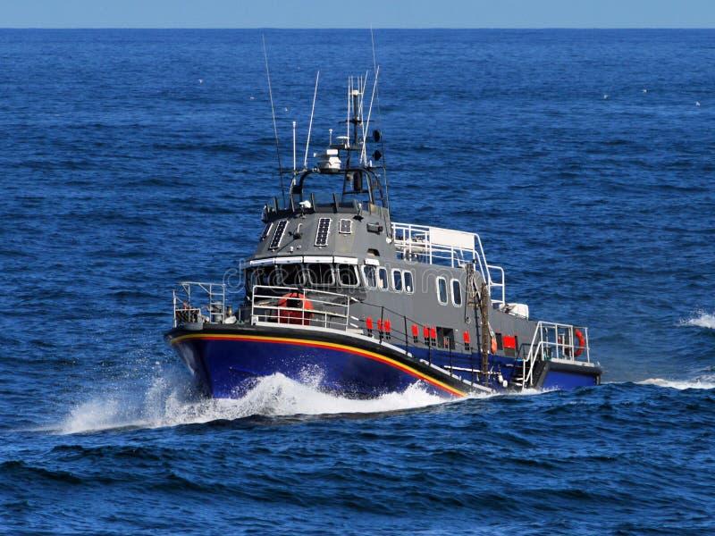 Op zee hoge snelheidsambacht royalty-vrije stock foto