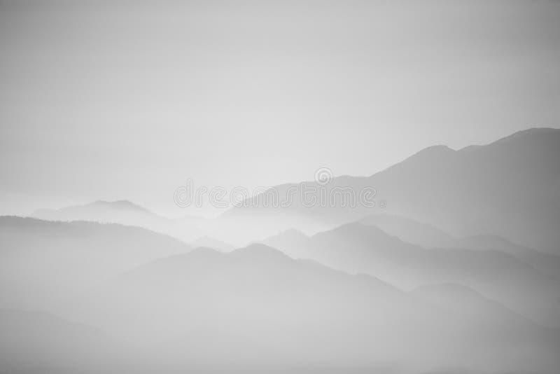 Opacità della montagna fotografia stock libera da diritti