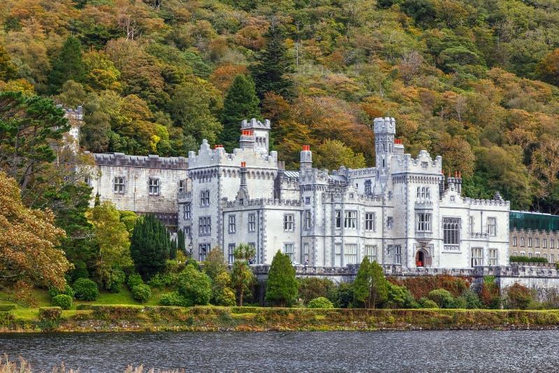 opactwa Ireland kylemore obrazy royalty free
