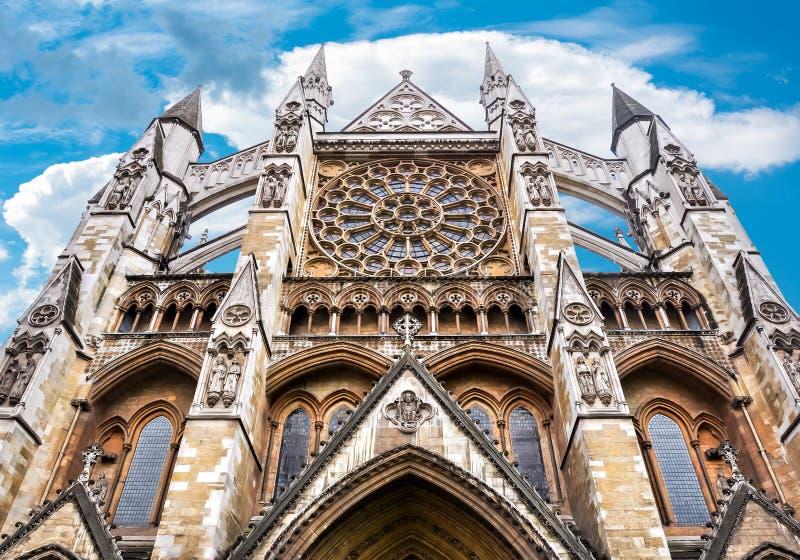 Opactwo Abbey fasada, Londyn, UK obraz royalty free