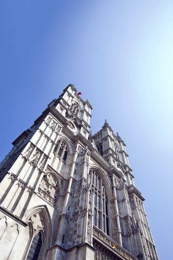 Opactwo Abbey i niebieskie niebo obrazy royalty free