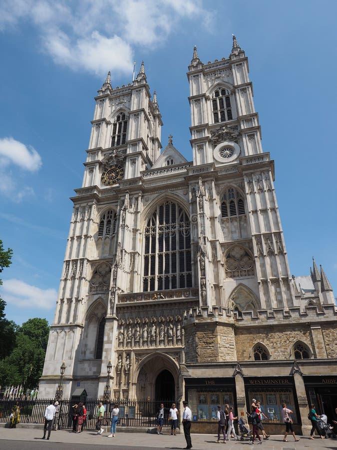 Opactwo Abbey kościół w Londyn zdjęcia stock