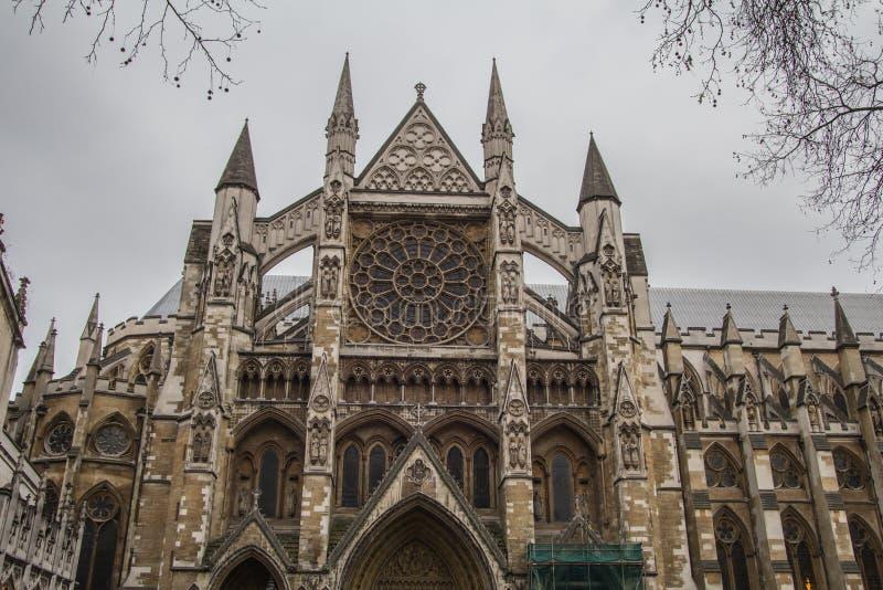 Opactwo Abbey kościół w Londyn obraz royalty free