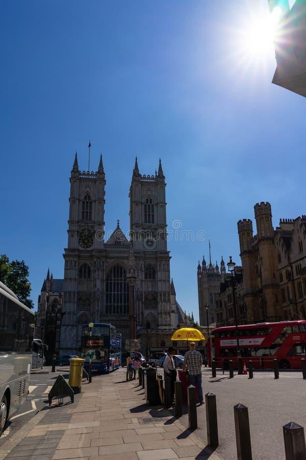 Opactwo Abbey kościół w Londyn, UK fotografia stock