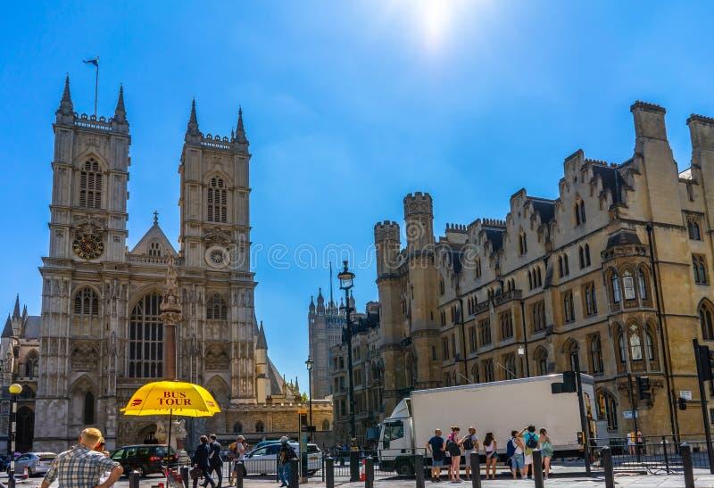 Opactwo Abbey kościół w Londyn, UK obrazy royalty free