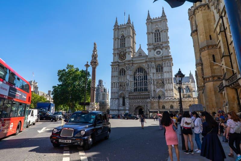 Opactwo Abbey kościół w Londyn, UK fotografia royalty free