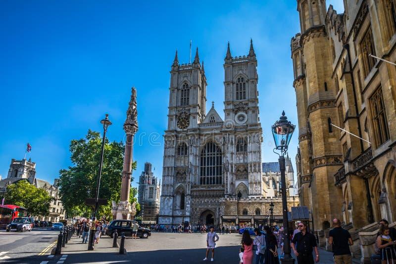 Opactwo Abbey kościół w Londyn, UK zdjęcie royalty free