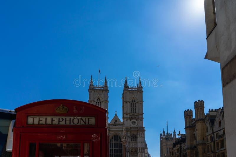 Opactwo Abbey kościół w Londyn, UK obrazy stock