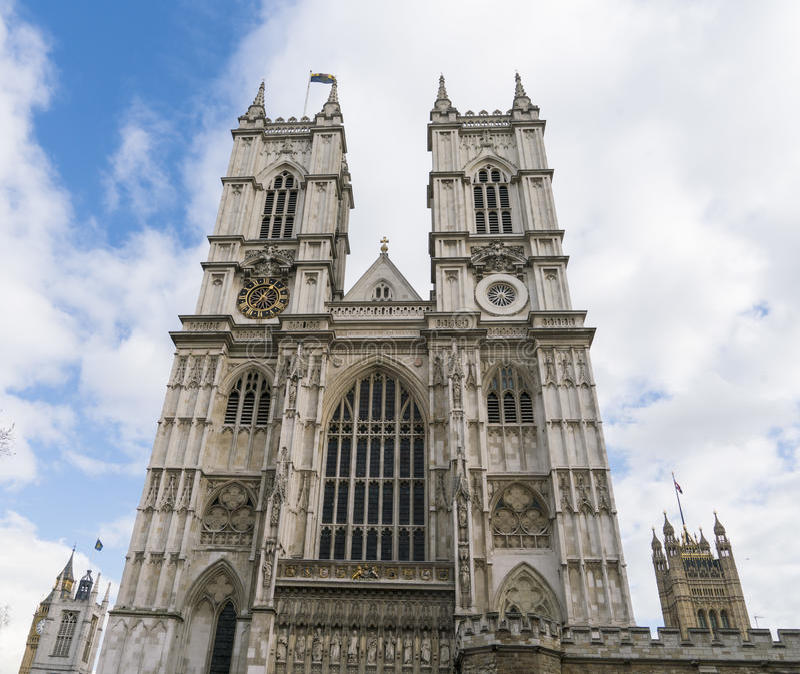 Opactwo Abbey Londyn Anglia zdjęcia royalty free