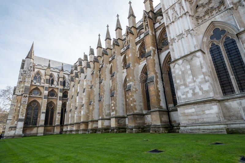 Opactwo Abbey od stać na czele w Londyn zdjęcie stock