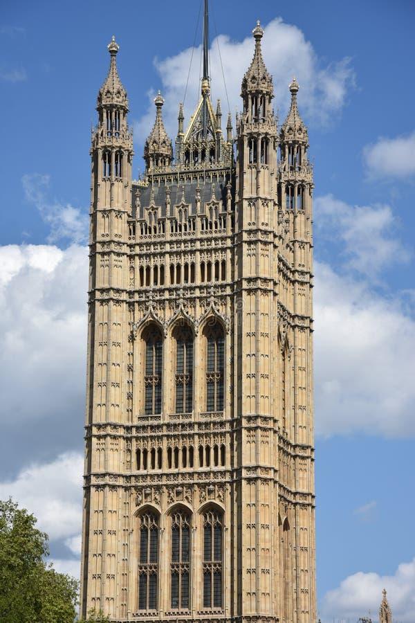 Opactwo Abbey przegl?da? od Wiktoria wierza uprawia ogr?dek, Londyn, UK zdjęcie stock
