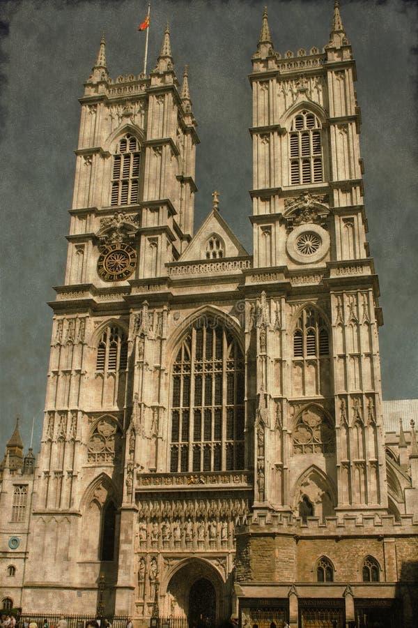 Opactwo Abbey - rocznik obrazy royalty free