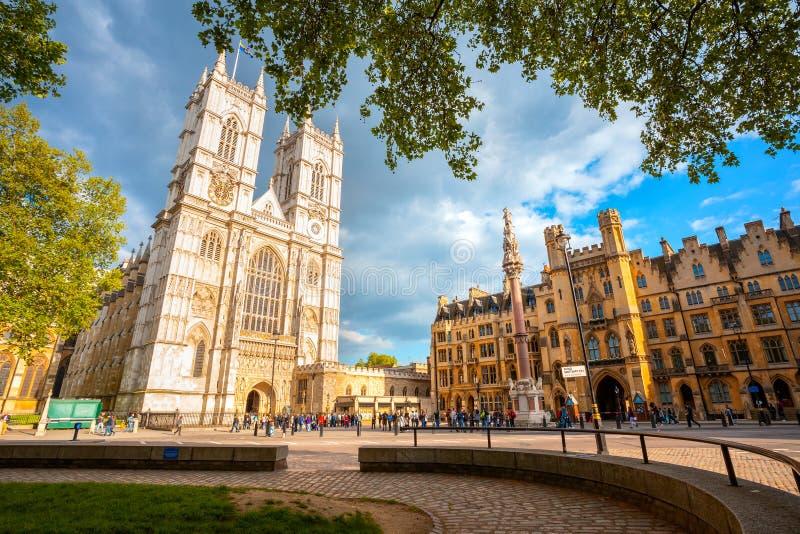 Opactwo Abbey - Uczelniany kościół St Peter przy Westminister w Londyn, UK obrazy royalty free