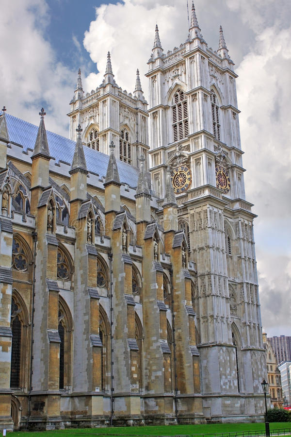 Opactwo Abbey w Londyn obrazy stock