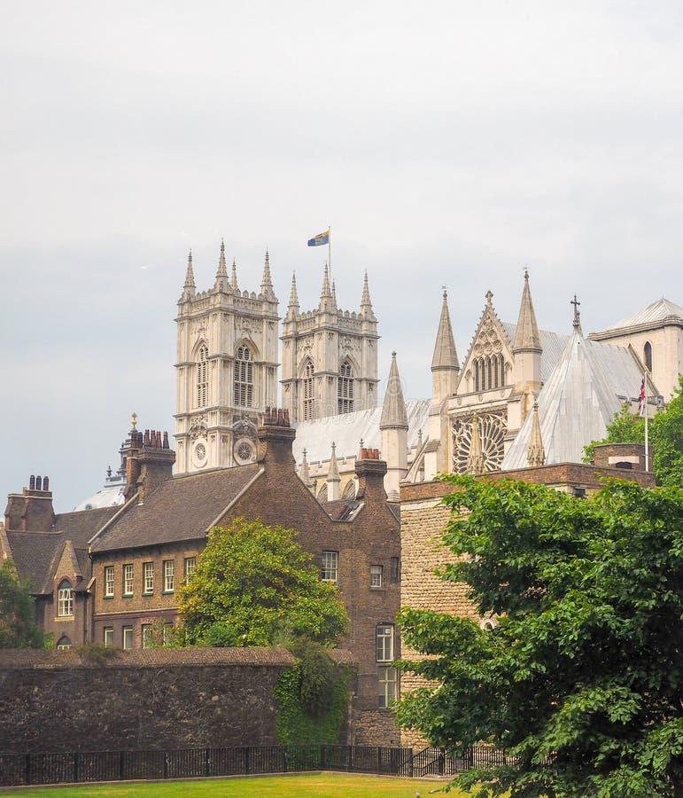 Opactwo Abbey w Londyn fotografia royalty free