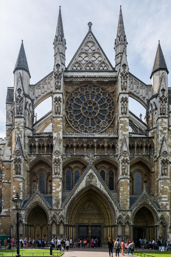 Opactwo Abbey w Londyn zdjęcia stock