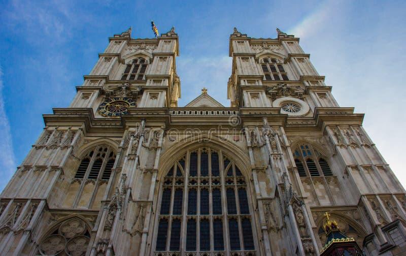 Opactwo Abbey w Londyn, Anglia zdjęcia royalty free