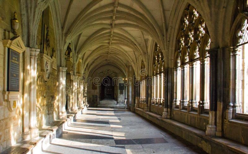 Opactwo Abbey w Londyn, Anglia zdjęcie stock