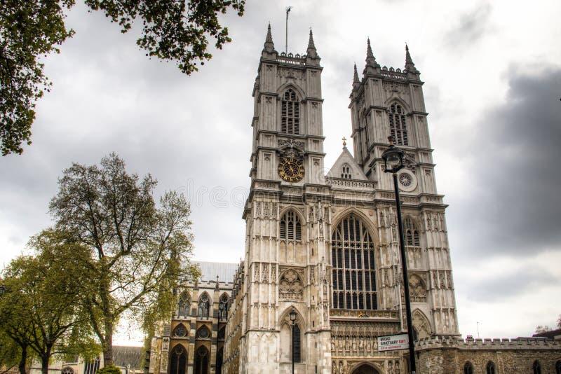 Opactwo Abbey w Londyn, UK zdjęcia royalty free