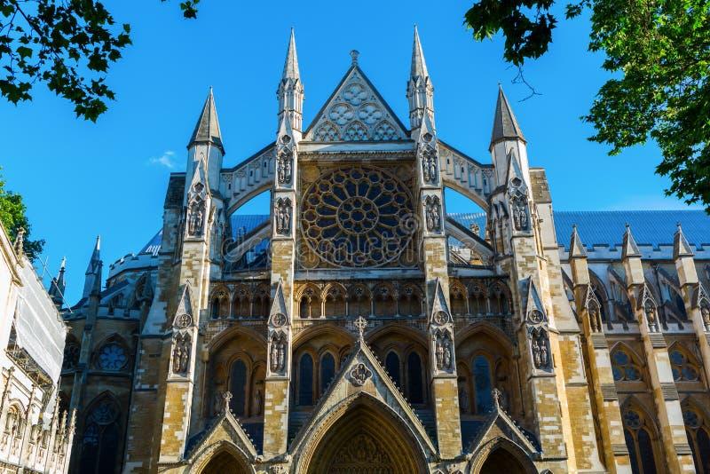 Opactwo Abbey w Londyn, UK zdjęcie royalty free