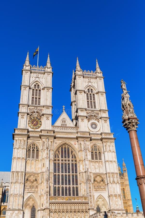 Opactwo Abbey w Londyn, UK obraz royalty free