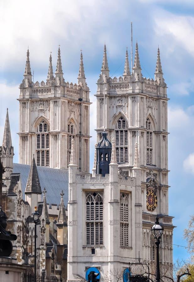 Opactwo Abbey widzieć od Thames rzeki, Londyn, UK obrazy royalty free