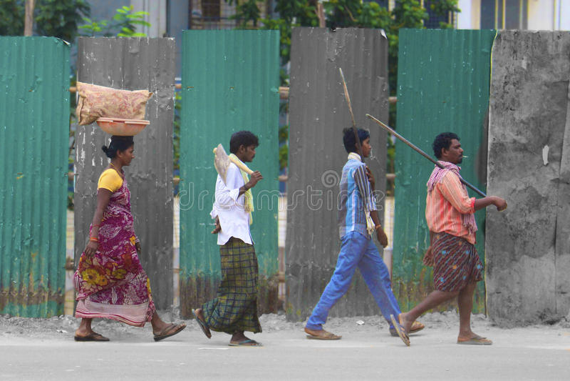 Opactwo droga w Bangalore? obraz royalty free