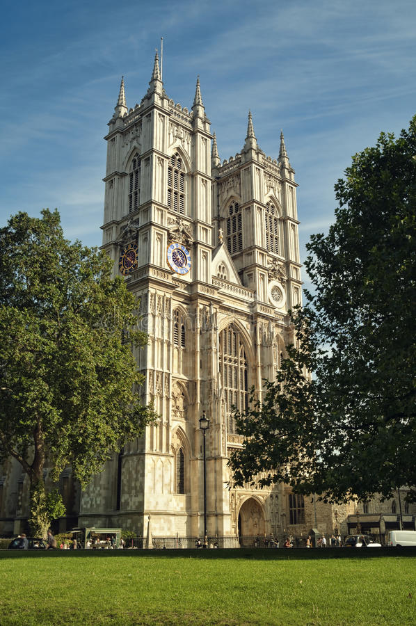 opactwo London Westminster obraz royalty free