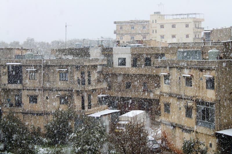 Opad śniegu