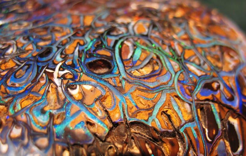 Opal λίθων στοκ φωτογραφία