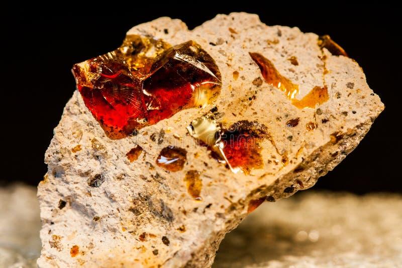 Opal της πυρκαγιάς στοκ εικόνα